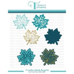 Maple Leaf, Trinity Stamps Cut & Foil Dies -