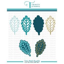 Oak Leaf, Trinity Stamps Cut & Foil Dies -