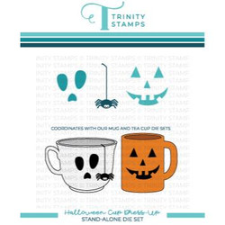 Halloween Cup Dress-Up, Trinity Stamps Dies -