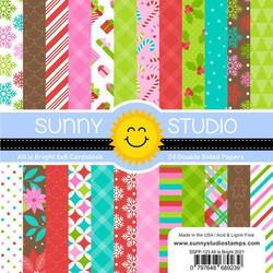 All is Bright, Sunny Studio 6 X 6 Paper Pad -