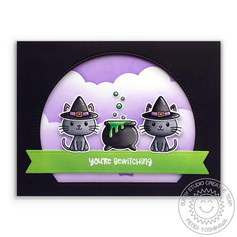 Bewitching, Sunny Studio Clear Stamps -