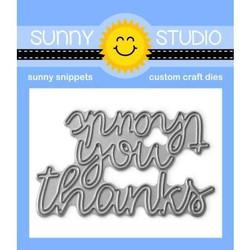 Thank You Words, Sunny Studio Dies -
