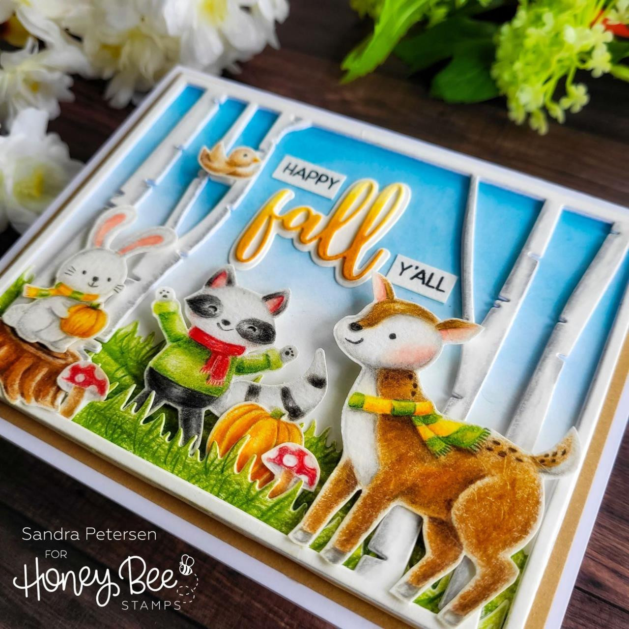 Better Together, Honey Cuts Clear Stamps -