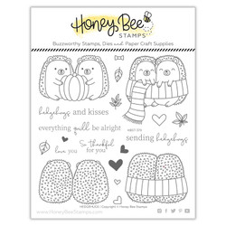 Hedgehugs, Honey Cuts Clear Stamps -