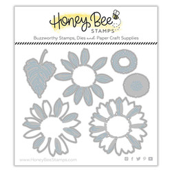 Lovely Layers: Sunflowers, Honey Cuts Dies -