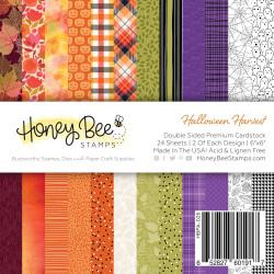 Halloween Harvest, Honey Bee 6 X 6 Paper Pad -