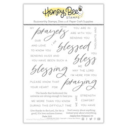 Praying Big Time, Honey Cuts Clear Stamps -