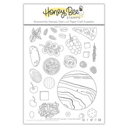 So Char-CUTE-rie, Honey Cuts Clear Stamps -