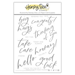 Thinking of You Big Time, Honey Cuts Clear Stamps -