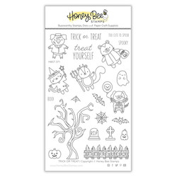 Trick or Treat, Honey Cuts Clear Stamps -