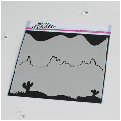 Arizona, Heffy Doodle Stencils -
