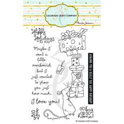 BIG Love by Anita Jeram, Colorado Craft Company Clear Stamps -
