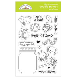 Going Buggy, Doodlebug Clear Stamps -