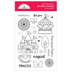 Fun at the Park, Doodlebug Clear Stamps -