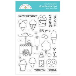 Food at the Park, Doodlebug Clear Stamps -