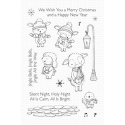 Christmas Carols by Stacey Yacula, My Favorite Things Clear Stamps -