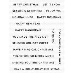 Itty Bitty Holiday, My Favorite Things Clear Stamps -