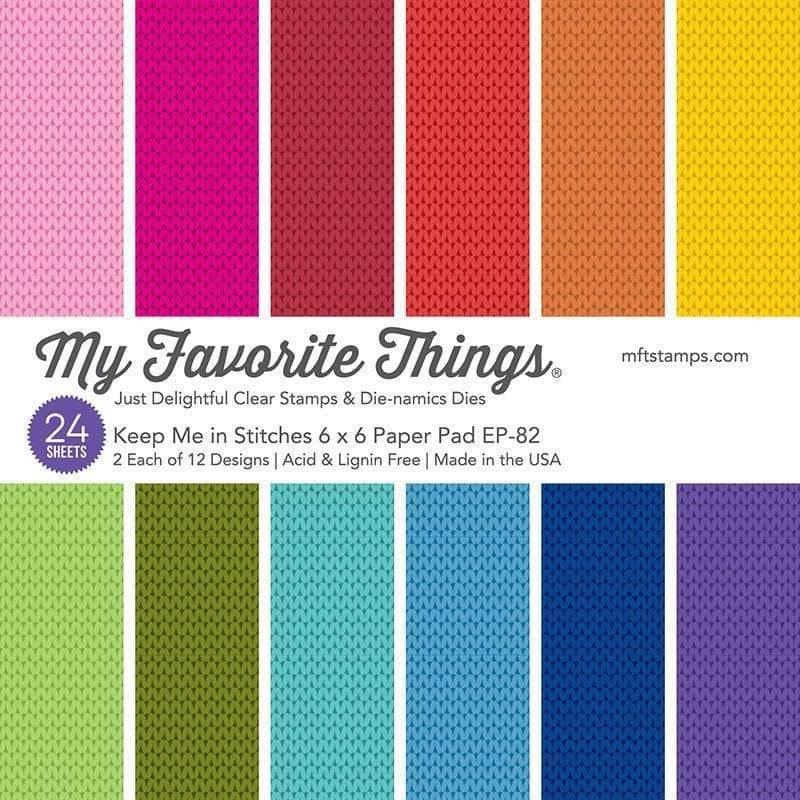 Keep Me in Stitches by Miss Tiina, My Favorite Things Paper Pack -
