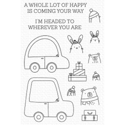 Special Delivery, My Favorite Things Clear Stamps -
