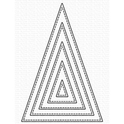 Stitched Tall Triangle STAX, My Favorite Things Die-Namics -