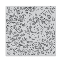 Leaves in the Wind Bold Prints, Hero Arts Cling Stamps -