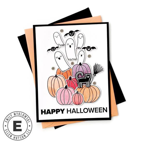 Halloween Boo-quet by Julie Ebersole, Essentials by Ellen Clear Stamps -