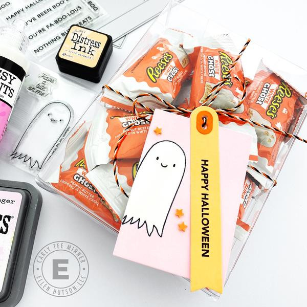 Halloween Treat Tags by Julie Ebersole, Essentials by Ellen Clear Stamps -
