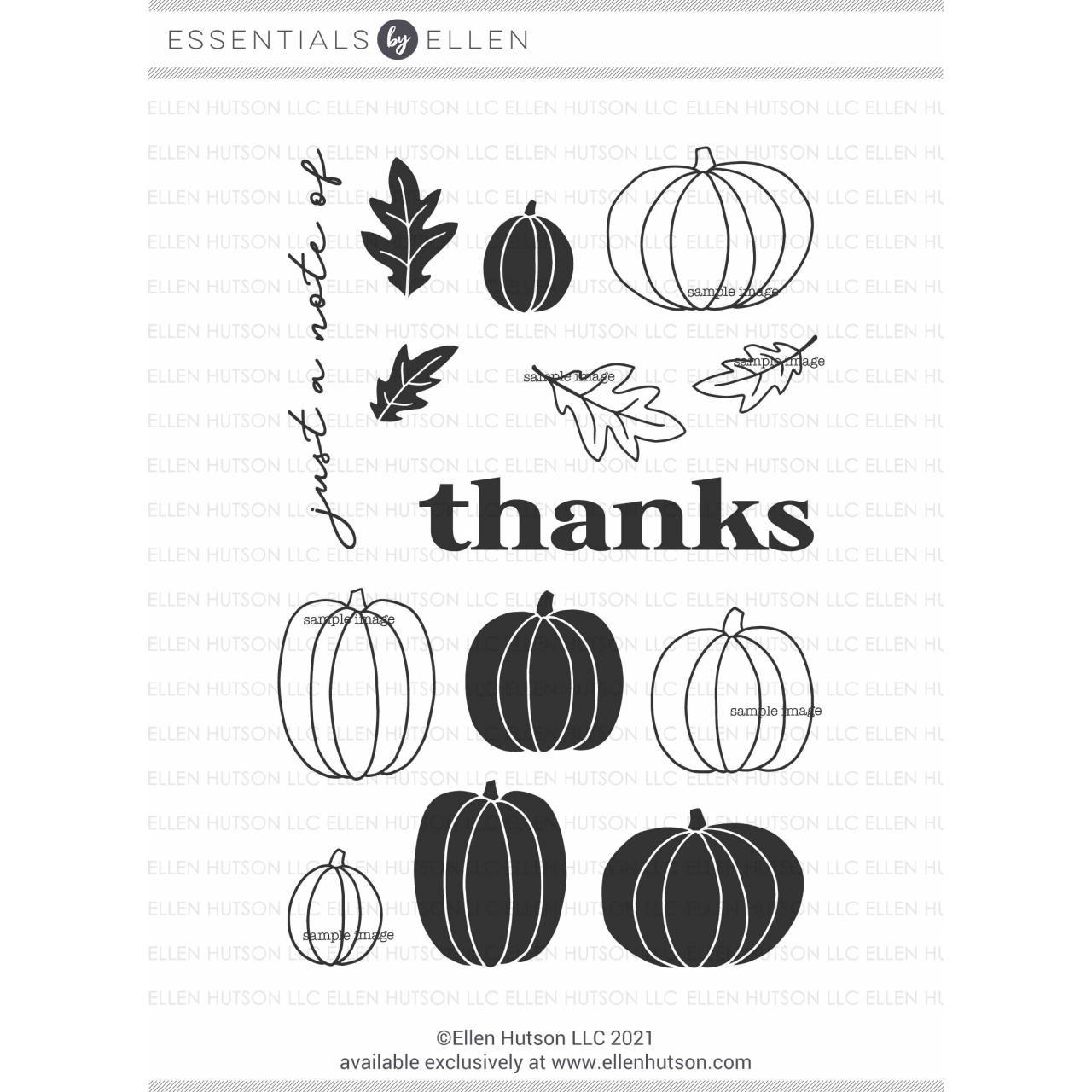 Pumpkin Season by Julie Ebersole, Essentials by Ellen Clear Stamps -