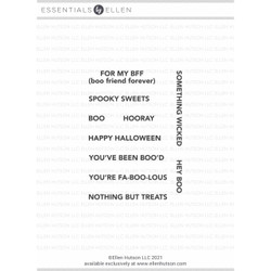 Tag It - Halloween, Essentials by Ellen Clear Stamps -