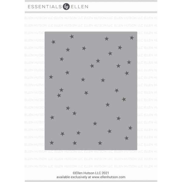 Tiny Stars Background by Julie Ebersole, Essentials by Ellen Hot Foil Stamps -