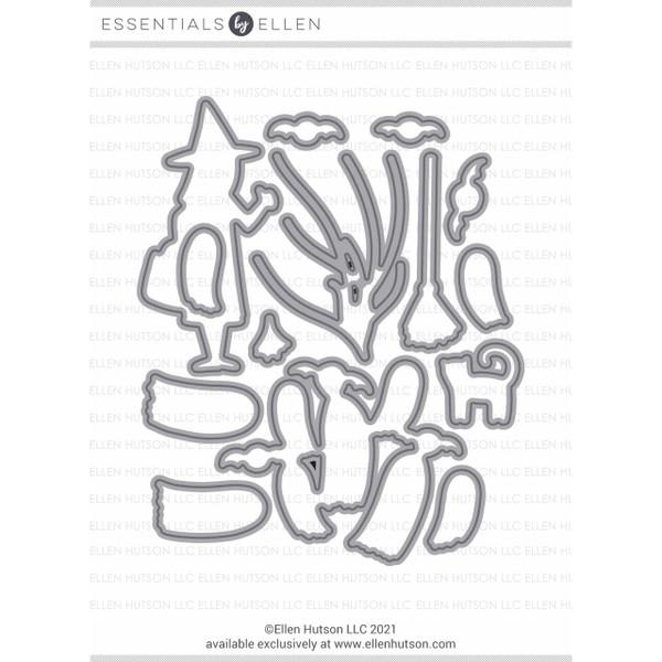 Halloween Boo-quet by Julie Ebersole, Essentials by Ellen Designer Dies -