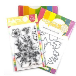 Anemone, Waffle Flower Stamp & Die Combo -