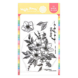 Anemone, Waffle Flower Clear Stamps -