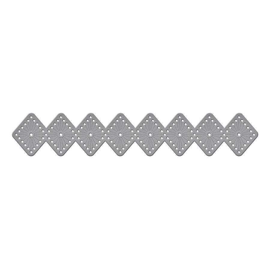 Diamonds Stitch, Spellbinders Etched Dies -