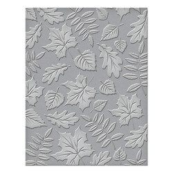 Falling Leaves, Spellbinders Embossing Folders -