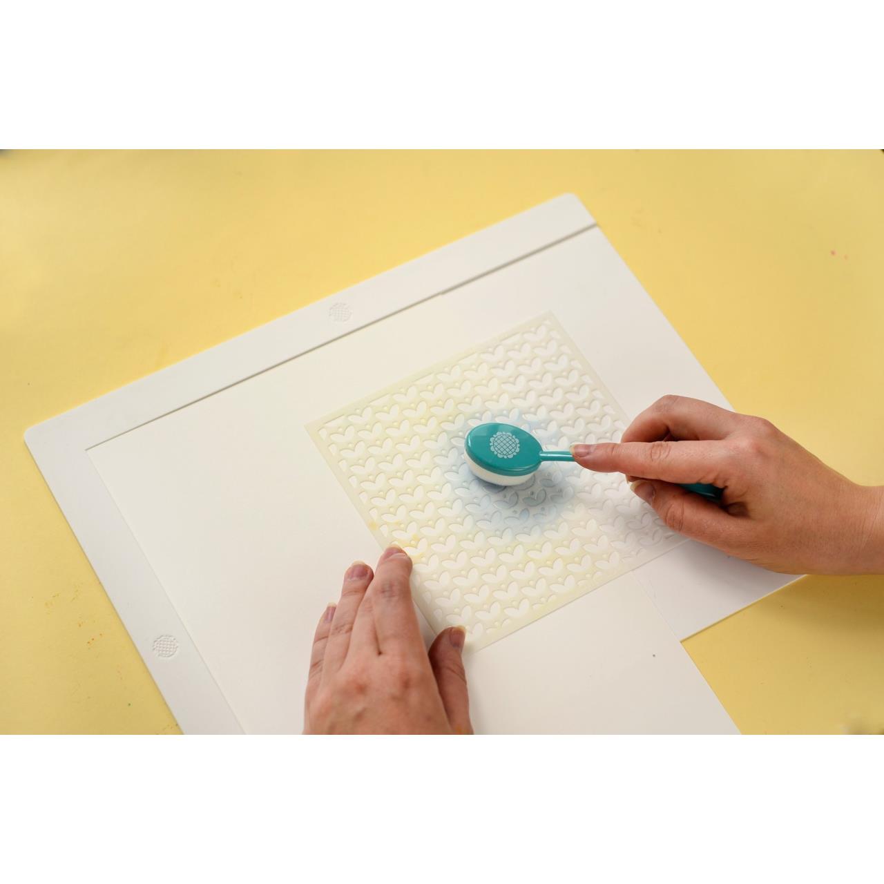Mini Stencil Mat, Waffle Flower Tools -