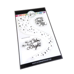 Holiday Glimmer, Catherine Pooler Clear Stamps -