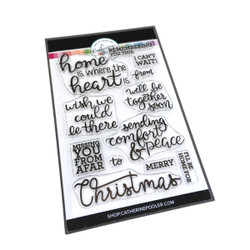 Near or Far Sentiments, Catherine Pooler Clear Stamps -