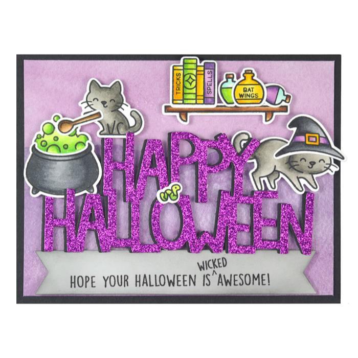Giant Happy Halloween, Lawn Cuts Dies -