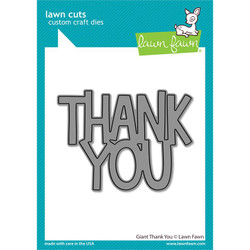 Giant Thank You, Lawn Cuts Dies -