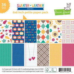 Sweater Weather Remix, Lawn Fawn Petite Paper Pack -