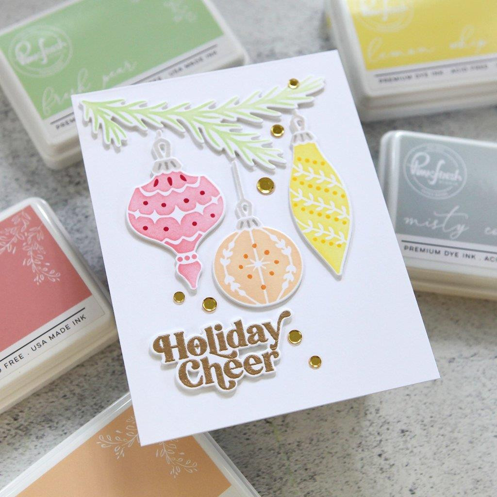 Perfect Sentiments: Holiday, Pinkfresh Studio Clear Stamps -