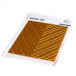 Chevron, Pinkfresh Studio Hot Foil Plates -
