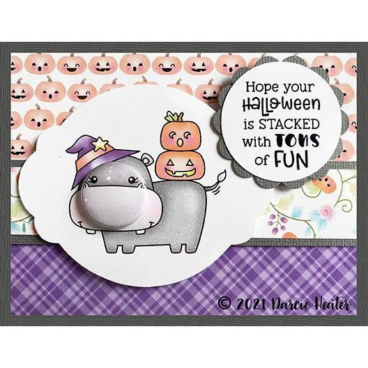 Tons of Halloween Fun, Darcie's Clear Stamps -