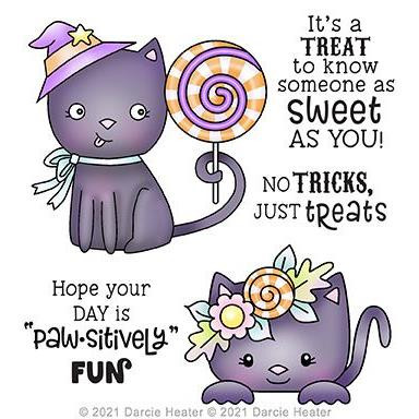 Paw-sitively Fun, Darcie's Clear Stamps -