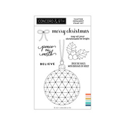 Yuletide Ornament, Concord & 9th Clear Stamps -