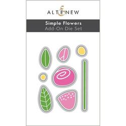 Simple Flowers Add-On, Altenew Dies -