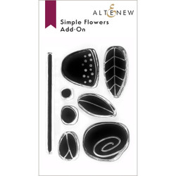 Simple Flowers Add-On, Altenew Clear Stamps -