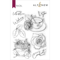 Rose Tea, Altenew Clear Stamps -