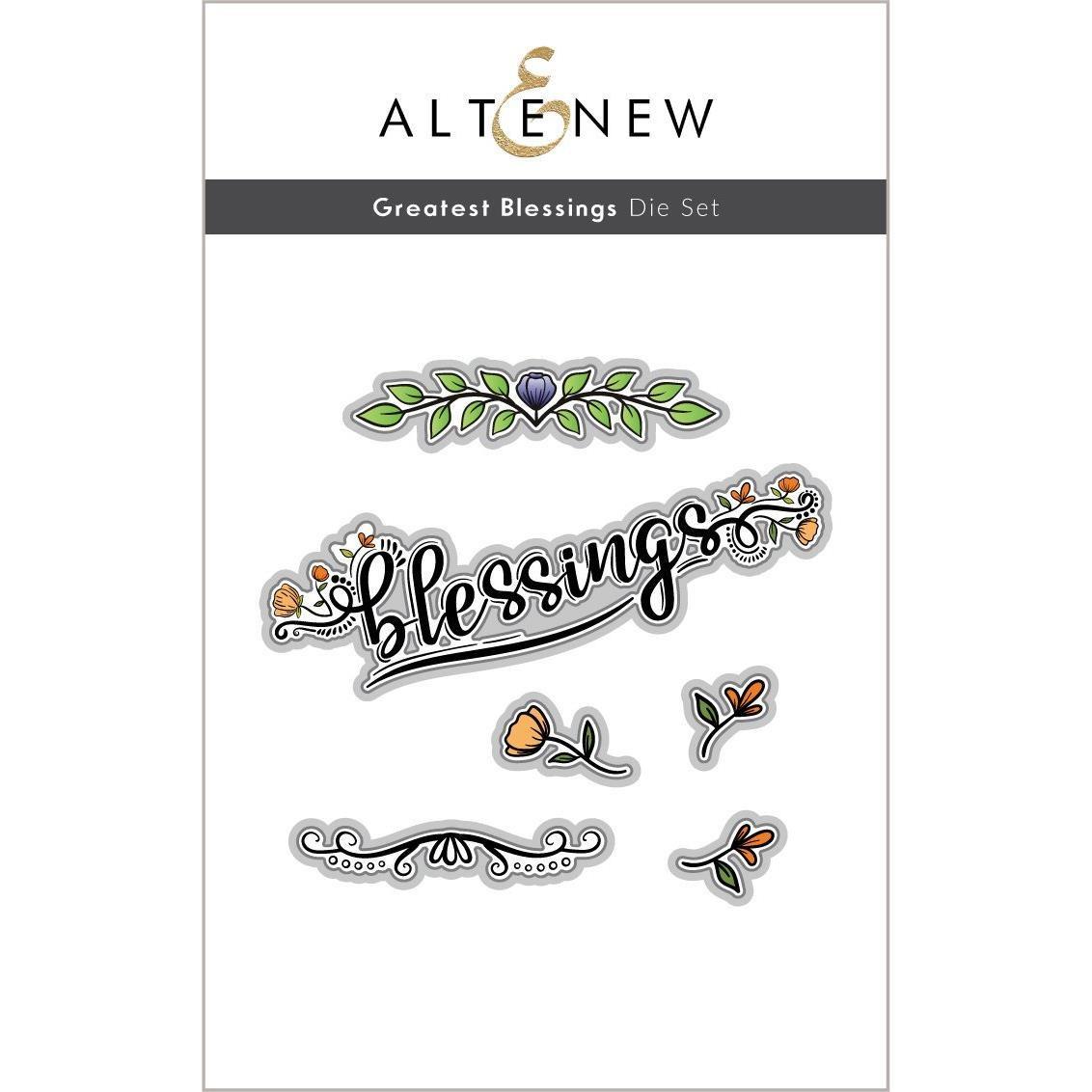 Greatest Blessings, Altenew Dies -